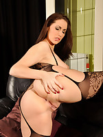 This fiery redhead loved the taste of Paige's big juicy ass, but not as much as being ridden by her big black strapon
