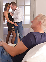 Mea Melone Hot Czech Chick Gets Stuffed By Three Rods