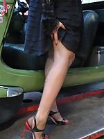 A Classy Parisian Lady offers you her nyloned feet!